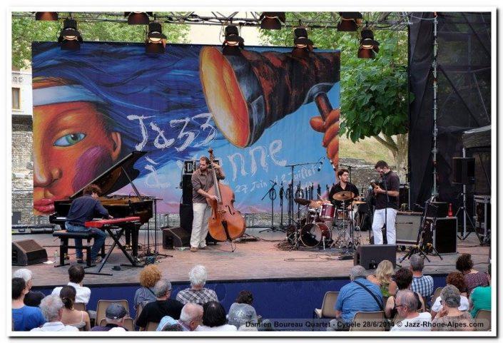 4dB - jazz - Vienne - Damien Boureau - Olivier Michel - Quentin Rondreux - Thomas Cassis