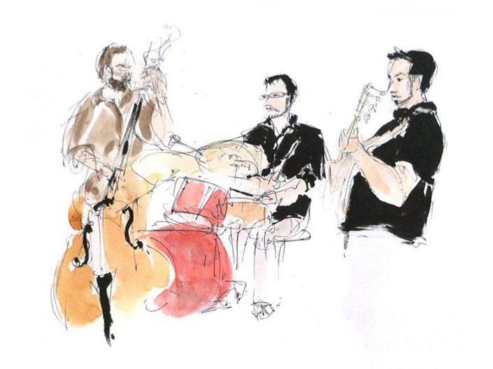 4dB - illustration- Damien Boureau - Olivier Michel - Quentin Rondreux