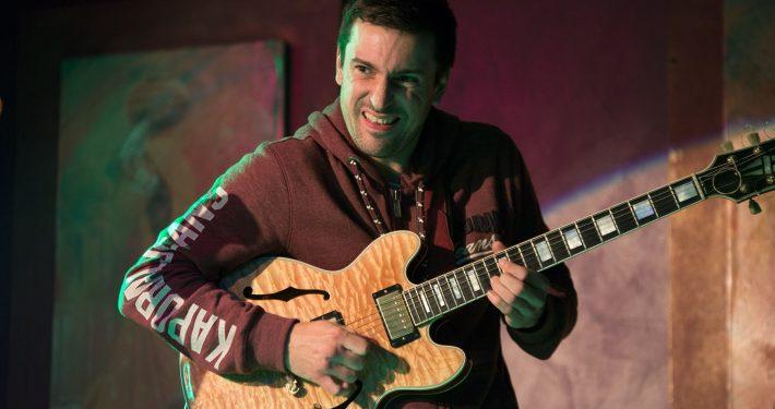 4dB en concert à l'Expression Libre - Nov 2017 - Damien Boureau, compositeur et guitariste