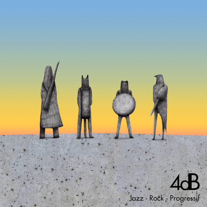 4dB - Jazz Rock Progressif - Illustration