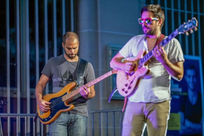 4dB - Jazz Rock Progressif: Damien Boureau, guitariste fusion et Olivier Michel, bassiste. Ville en Musique, Troyes