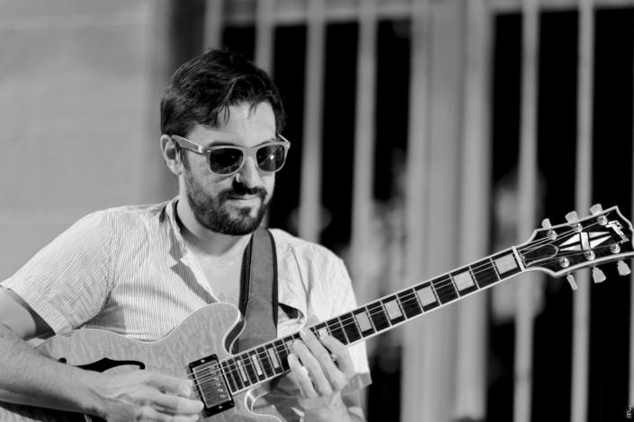 4dB - Jazz Rock Progressif - Damien Boureau - guitariste fusion - Ville En Musique
