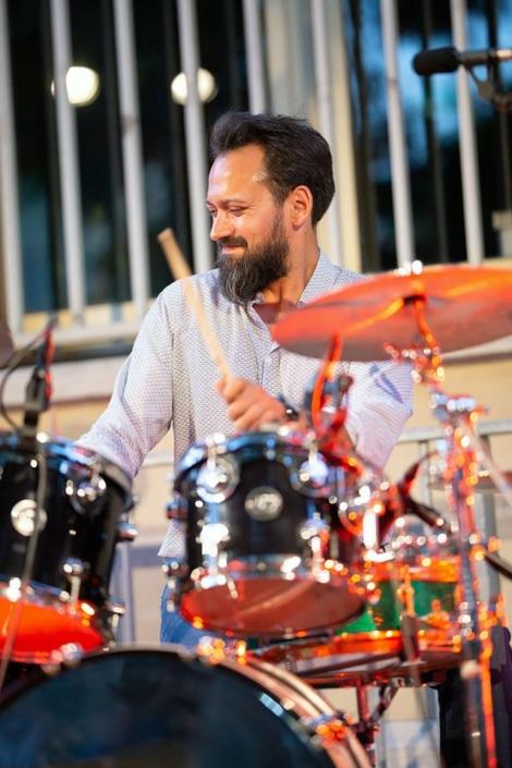 4dB - Jazz Rock Progressif: Romain Delaine, batteur. Ville en Musique, Troyes