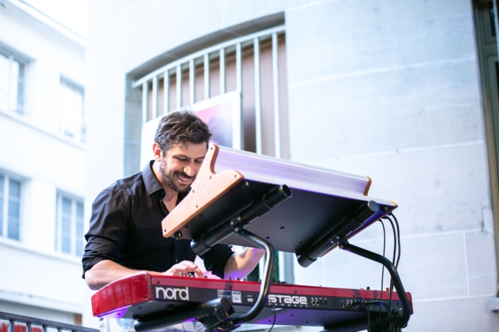 4dB - Jazz Rock Progressif: Thomas Cassis, clavier. Ville en Musique, Troyes