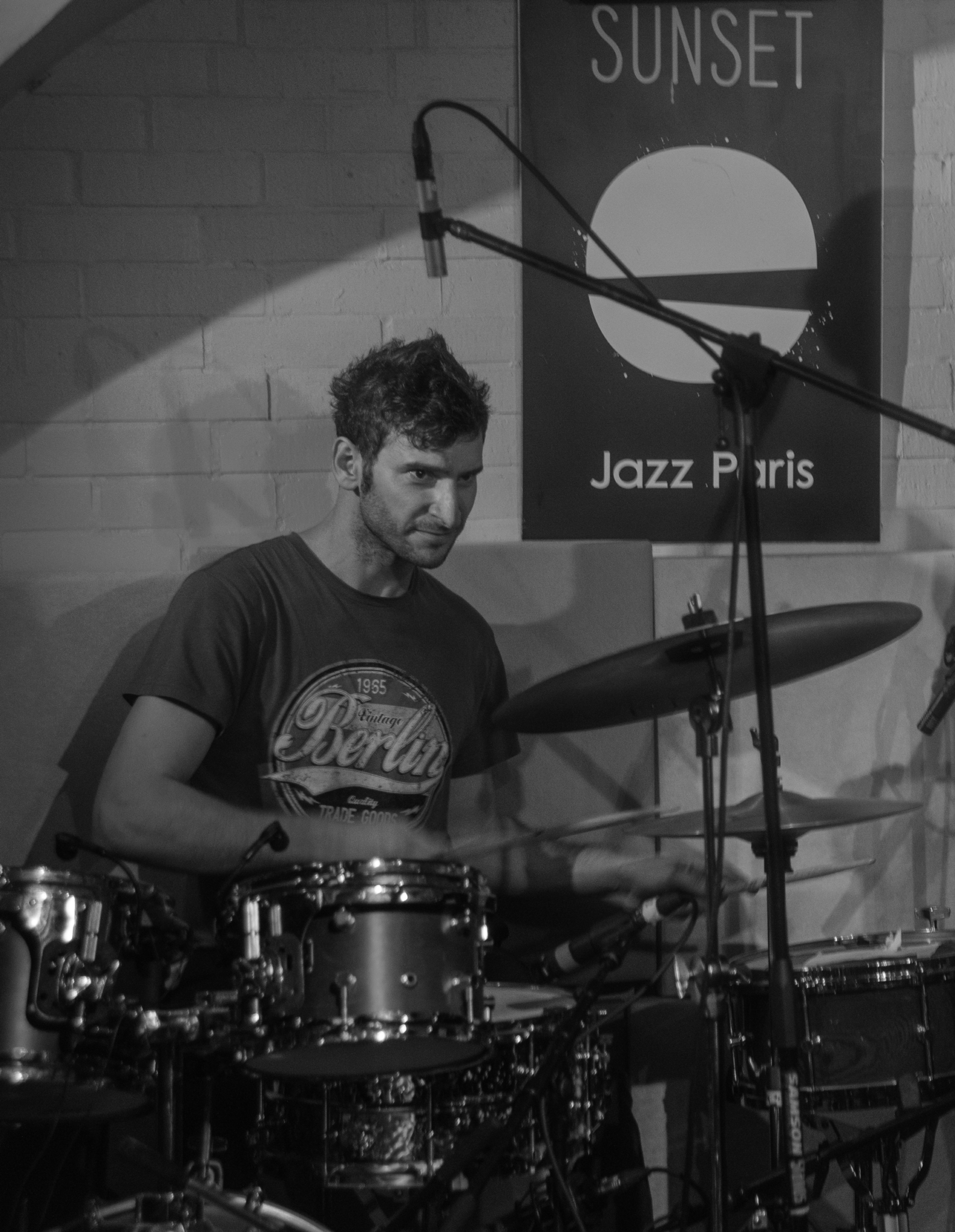 Jazz Rock Progressif - 4dB - Francesco Marzetti, batteur