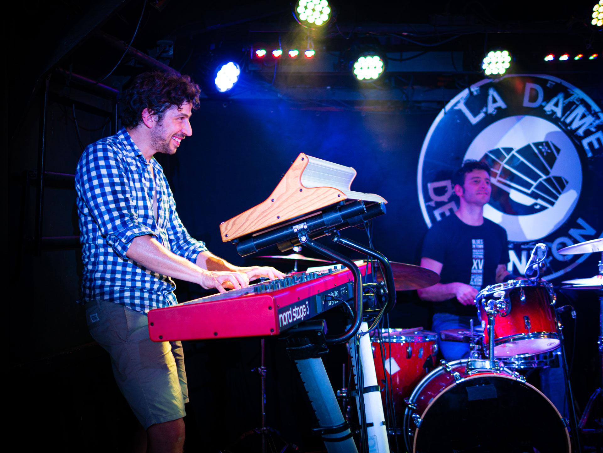 Jazz Rock Progressif - 4dB - Thomas Cassis - Francesco Marzetti